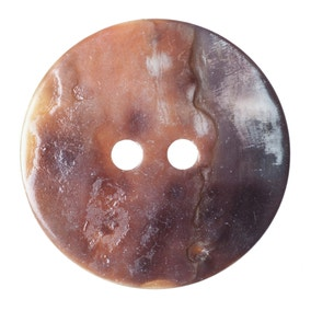 Pack of Three Natural Buttons