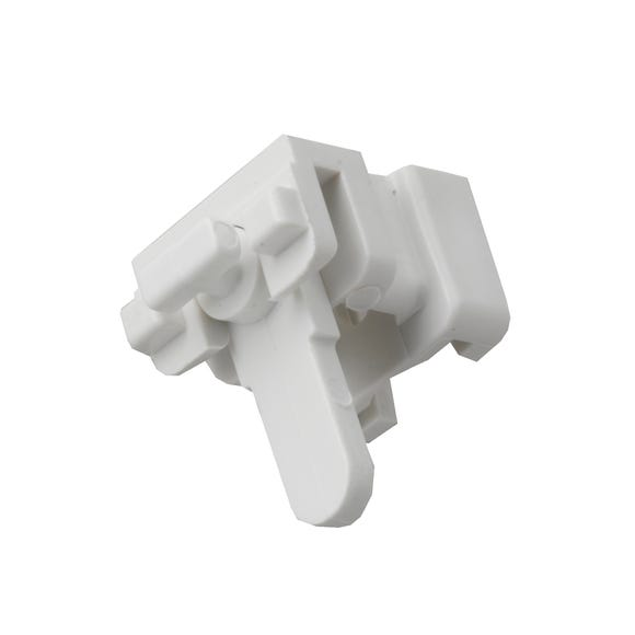 Swish Pack of 5 Deluxe Lock Brackets White
