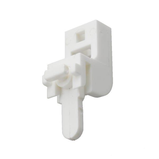 Swish Sologlyde Pack of 5 Lever Lock Brackets White