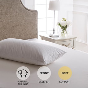 Dorma Hungarian Goose Down Soft-Support Pillow