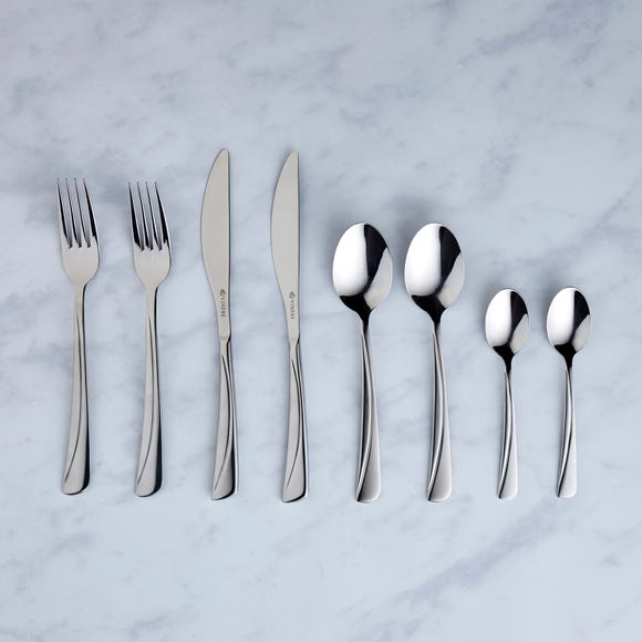Viners Angel 24 Piece Cutlery Set Silver