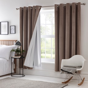 Blackout Eyelet Curtain Linings