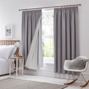 Pencil Pleat Blackout Curtain Linings