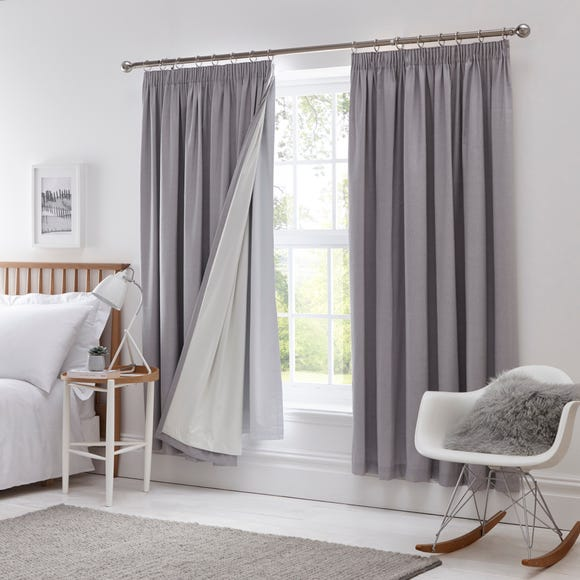 Pencil Pleat Blackout Curtain Linings  undefined