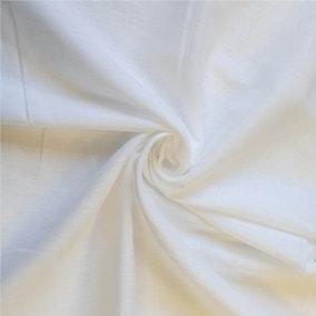 Muslin Lining White Fabric