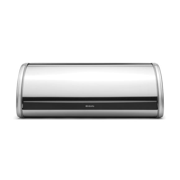 Brabantia Roll Top Matt Steel Bread Bin Silver