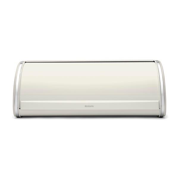 Brabantia Off-White Roll Top Bread Bin White