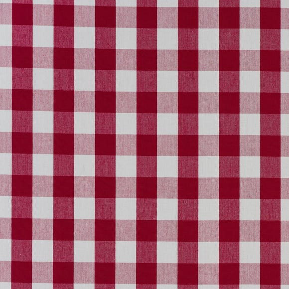 Breeze Rouge Fabric  Red
