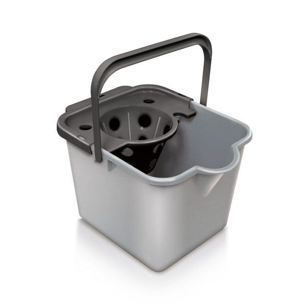 Addis Mop Bucket and Wringer Graphite (Grey)