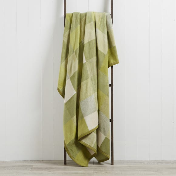 Thermosoft Squares 150cm x 200cm Blanket Thermosoft Squares Green