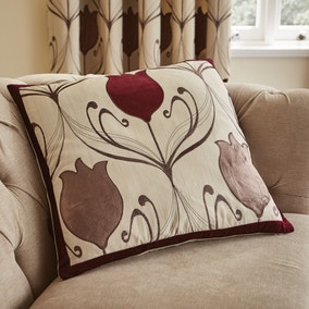 Lalique Wine Flower Cushion