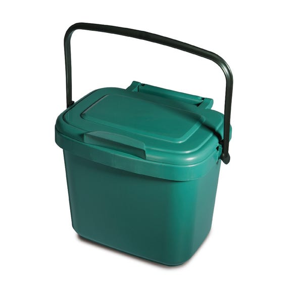 Addis 5 Litre Compost Caddy Green