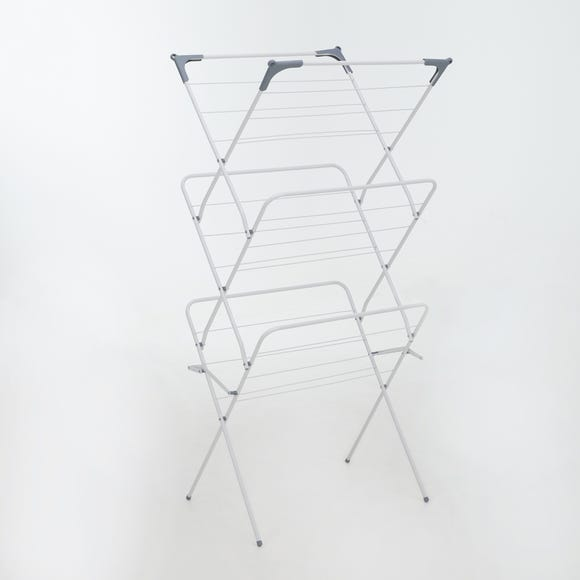 White Deluxe 3 Tier Airer White