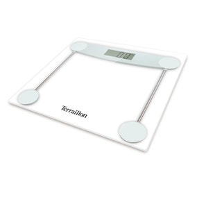Terraillon TX5000 Clear Glass Electronic Bathroom Scales