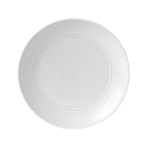 Gordon Ramsay by Royal Doulton White Maze Side Plate White