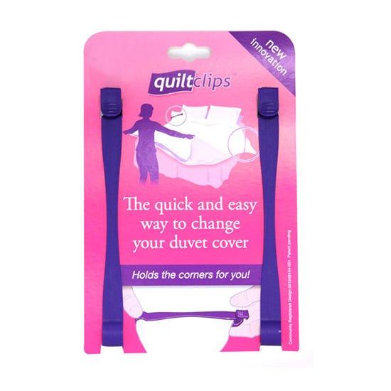 Quilt Clips Purple