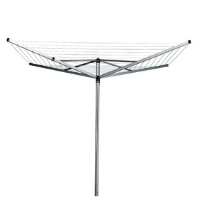 Brabantia 40 Metre 4 Arm Compact Rotary Washing Line with Cover