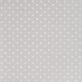 White Spot Clear PVC