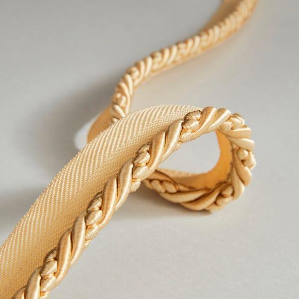 Vivaldi Flanged Cord Gold