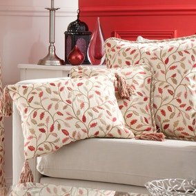 Heritage Glava Terracotta Boudoir Cushion