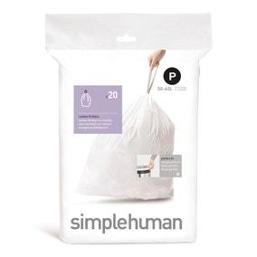 simplehuman P 50-60 Litre Bin Liners