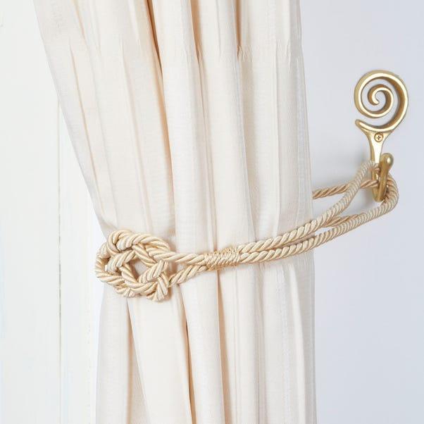 Knot Tieback Cream