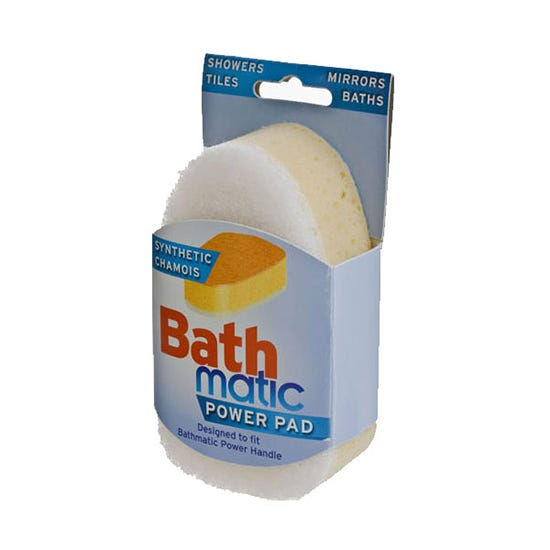 Bathmatic Power Handle Refill White