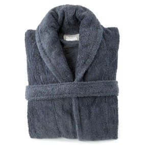 Egyptian Cotton Charcoal Dressing Gown