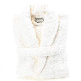 Egyptian Cotton Cream Dressing Gown