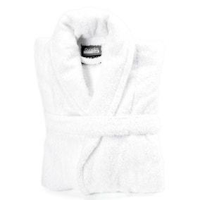 Egyptian Cotton White Dressing Gown