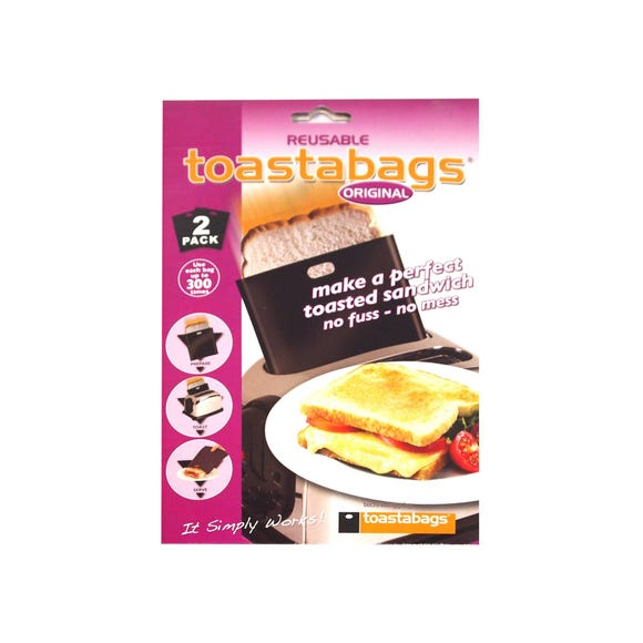 Pack of 2 Toastabags Black