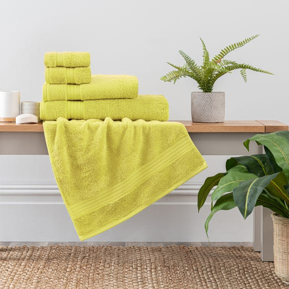 Lime Egyptian Cotton Towel  undefined