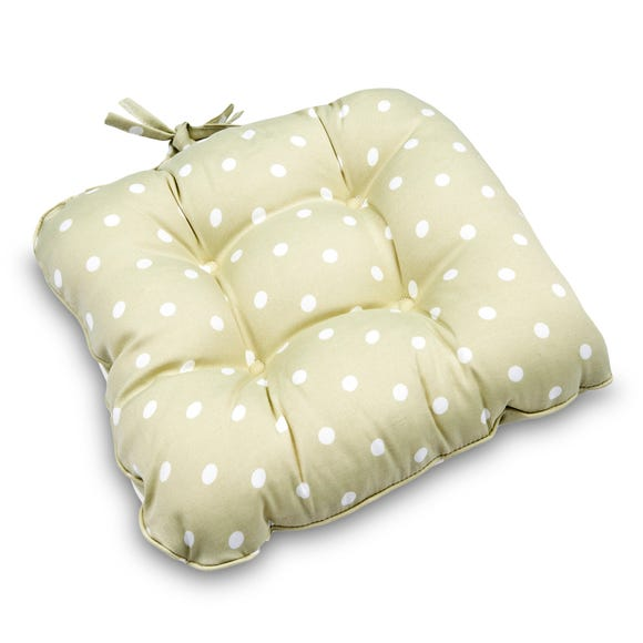 Dotty Seat Pad Sage (Green)