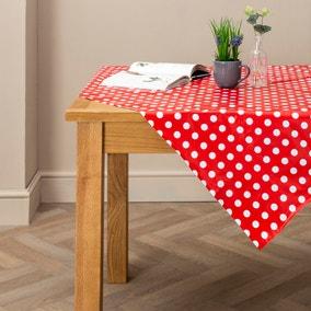 Dotty Rectangle PVC Tablecloth