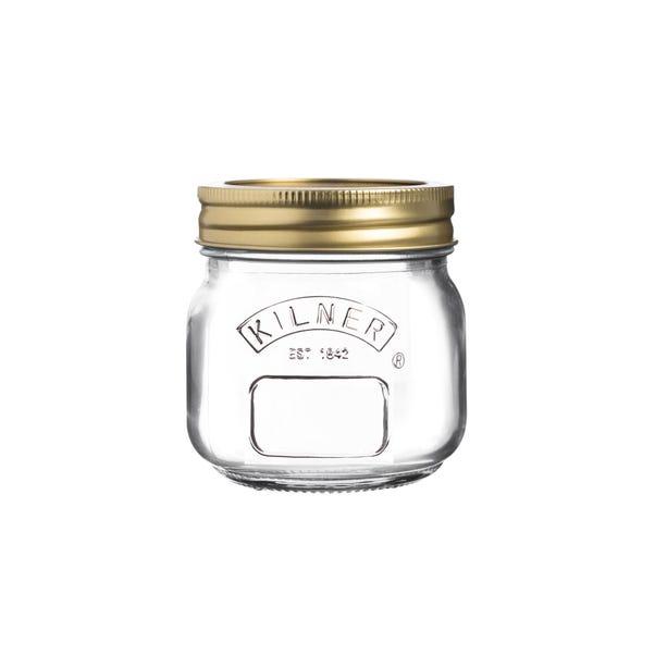 Kilner 250ml Preserving Jar Clear