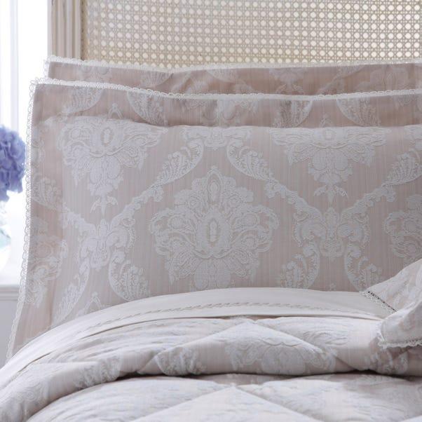 Dorma Aveline Natural Oxford Pillowcase Natural