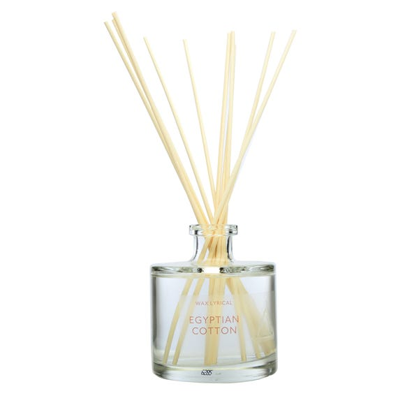 Egyptian Cotton 200ml Reed Diffuser Clear
