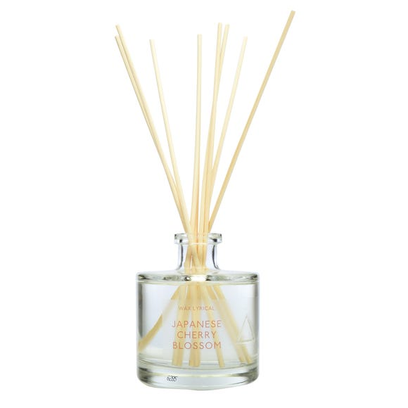 Japanese Cherry Blossom 200ml Reed Diffuser Clear