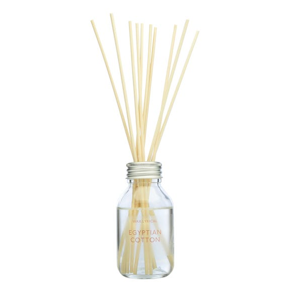 Egyptian Cotton 100ml Reed Diffuser Clear