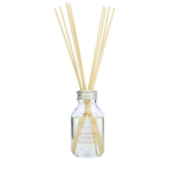 Wax Lyrical Japanese Cherry Blossom 100ml Reed Diffuser Clear