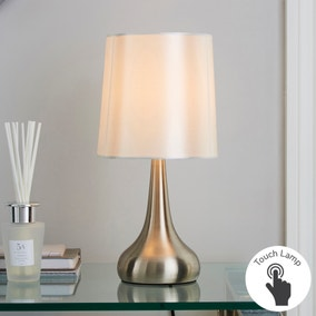 Rimini Cream Touch Dimmable Lamp