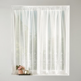 Jubilee Net Slot Top Curtain Fabric