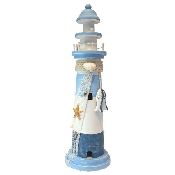 Coastal Light House Blue