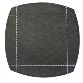 Black Pausa Set of 4 Coasters