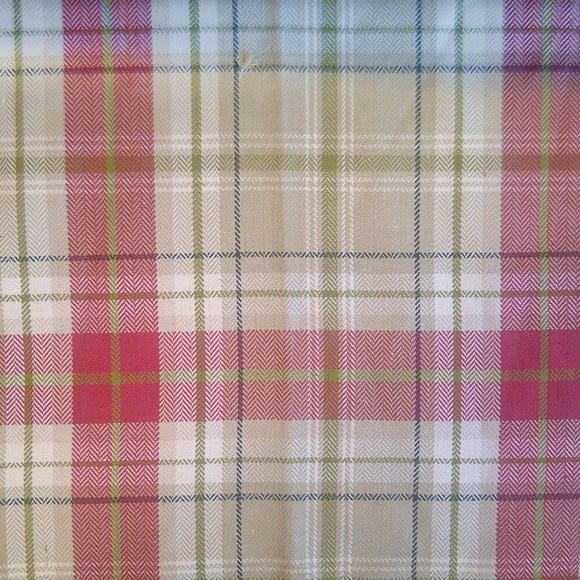 Berridale Red Woven Fabric