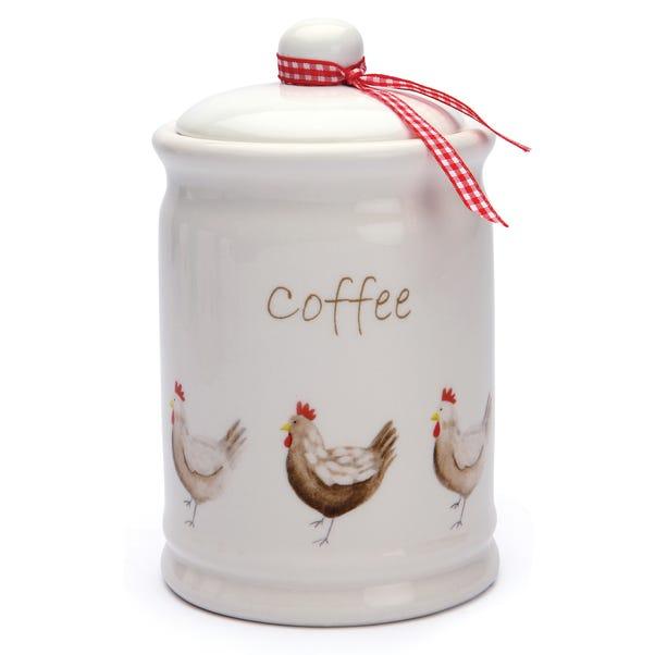 Henrietta Coffee Canister Cream