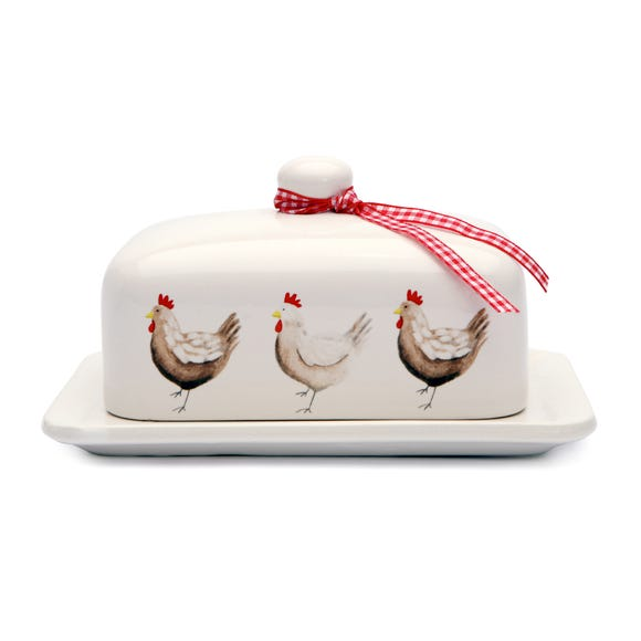 Henrietta Butter Dish Cream