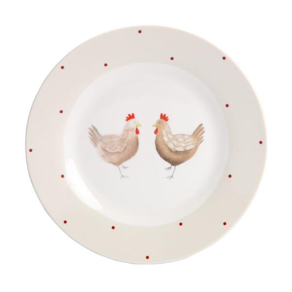 Henrietta Side Plate Cream