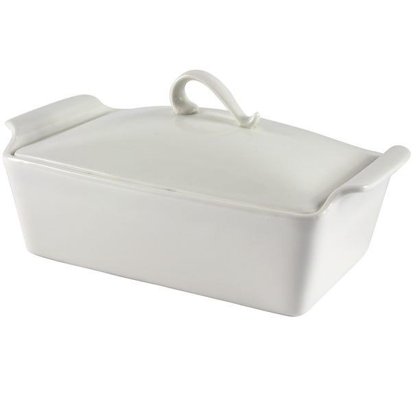 Pausa Lidded Casserole Dish White