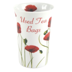 Poppy Teabag Pot
